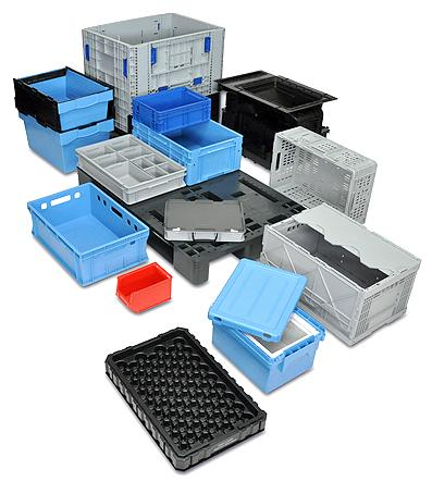 Containers and crates