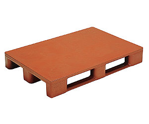 Plastic euro pallet - smooth surface